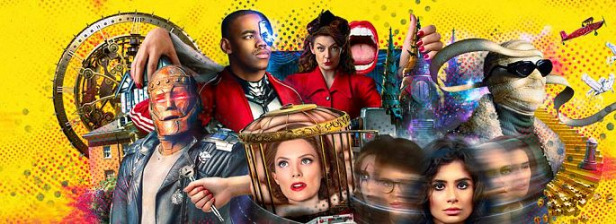 "Review ""Doom Patrol"": So starten die superschrägen Superloser"