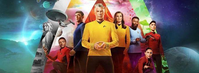 """""""Strange New Worlds"""": Neue """"Star Trek""""-Uniformen + Crew in Quarantäne"""