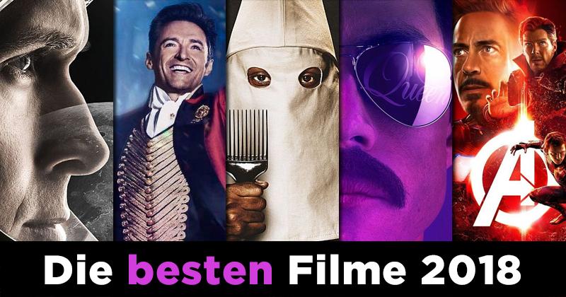Die besten Filme 2018 - Die MJ-Redaktion hat gewählt