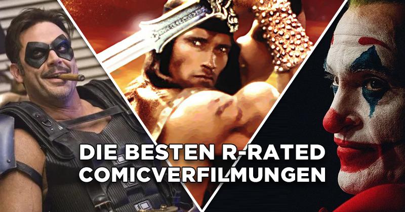Einfach brutal: Die besten R-Rated-Comicverfilmungen!
