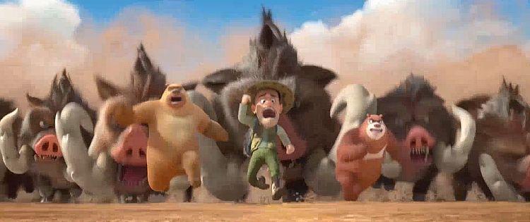 Die Boonies - Eine bärenstarke Zeitreise Trailer