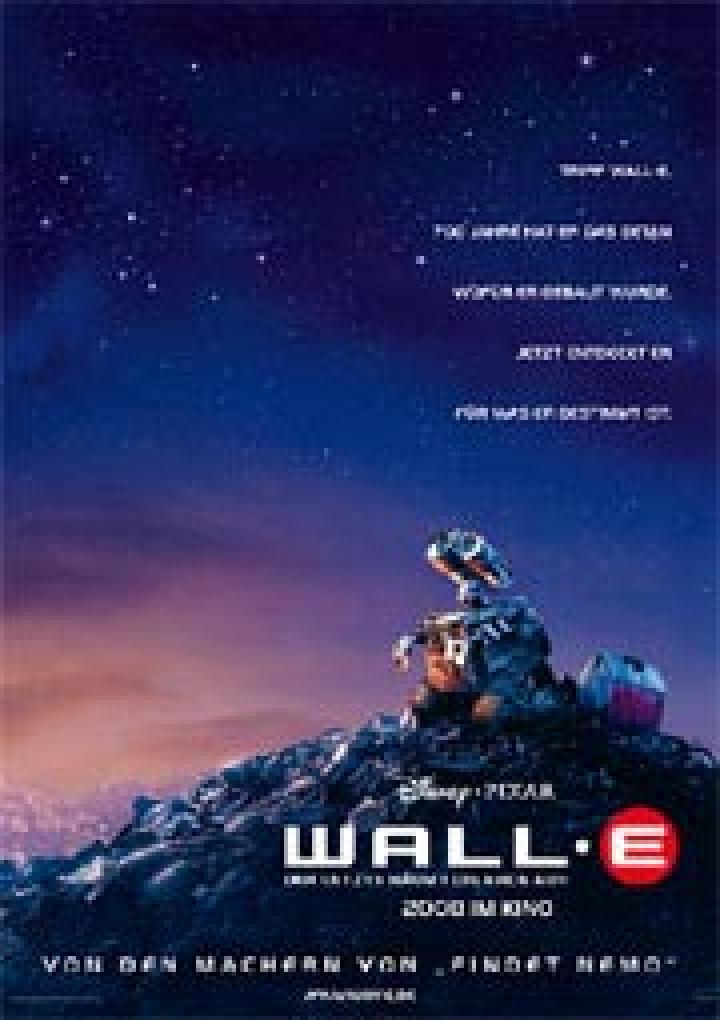 Wall E Der Letzte Räumt Die Erde Auf Ganzer Film