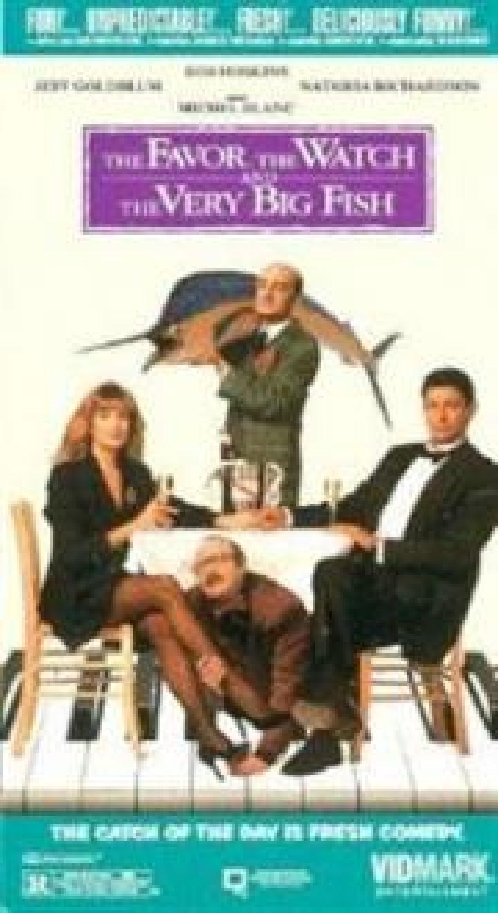 der gefallen die uhr und der sehr gro e fisch film 1991. Black Bedroom Furniture Sets. Home Design Ideas