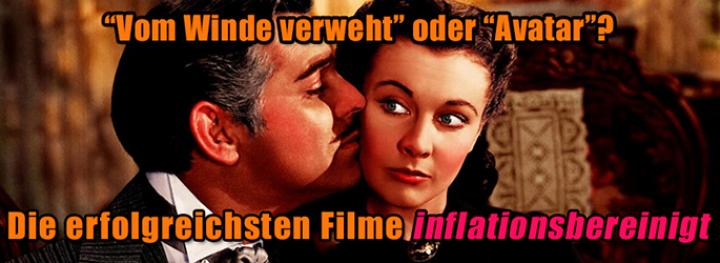 Erfolgreichste Filme Aller Zeiten Inflationsbereinigt