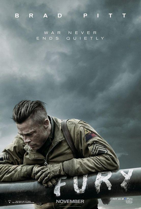 Brad Pitt Kann Nicht Mehr Das Erste Herz Aus Eisen Poster Lässt Es